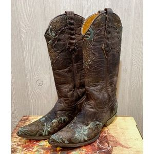 Old Gringo Erin Chocolate Western Boots 6.5
